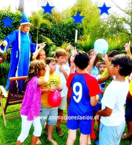 Animador para cumpleaños a domicilio en Colmenar Viejo