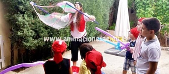 Animadores para fiestas de cumpleaños infantiles en Fuenlabrada