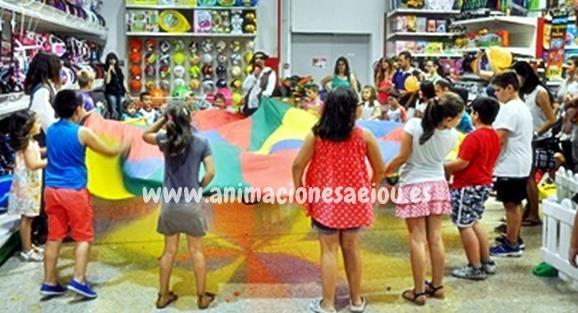 Fiestas infantiles en Collado de Villalba