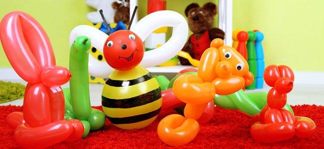 Globoflexia Para Cumpleanos Infantiles - Formas-con-globos-largos