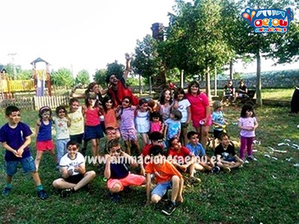 Juegos para cumpleaños infantiles con niños de varias edades