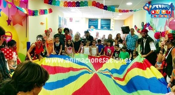 Animación para cumpleaños a domicilio en San Sebastián de los Reyes