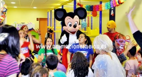 Animadores infantiles en Las Rozas