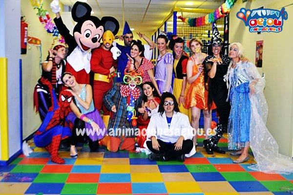 Animadores, magos y payasos en Rivas-Vaciamadrid