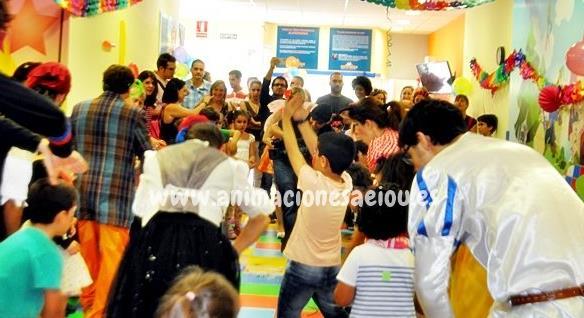 Animadores para fiestas de comunión infantiles en Las Rozas