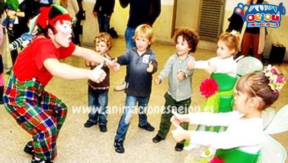 Animadores para fiestas de cumpleaños infantiles en Coslada