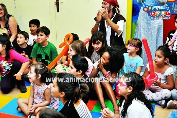 Animadores para fiestas inafntiles en Rivas-Vaciamadrid a domicilio