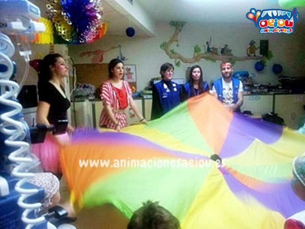 Animadores para fiestas infantiles en Getafe a domicilio