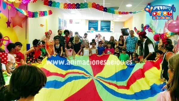 Animadores para fiestas infantiles por Torrejón de Ardoz