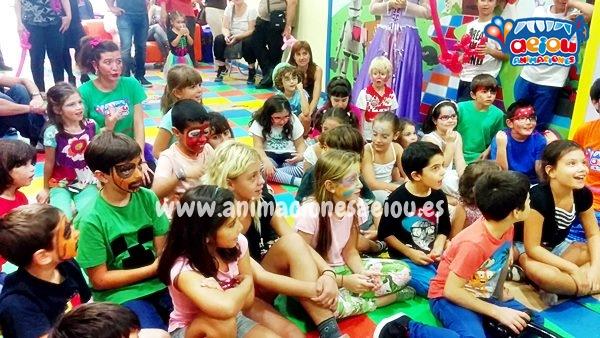 Animadores para fiestas infantiles en Parla a domicilio