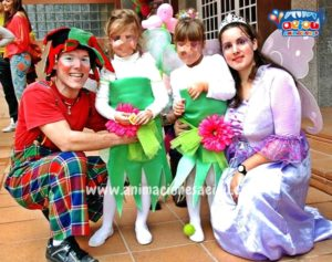Payasos para fiestas infantiles en Pozuelo de Alarcón a domicilio
