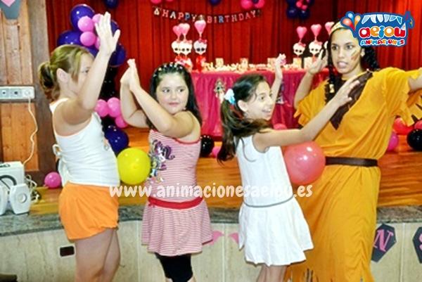 Payasos para fiestas infantiles en San Sebastián de los Reyes