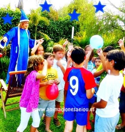 Animaciones para fiestas de cumpleaños y comuniones en colmenarejo