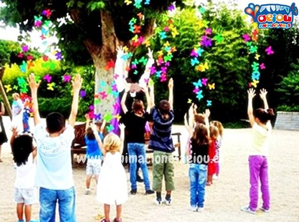 Animaciones para fiestas de cumpleaños infantiles y comuniones en Los Molinos