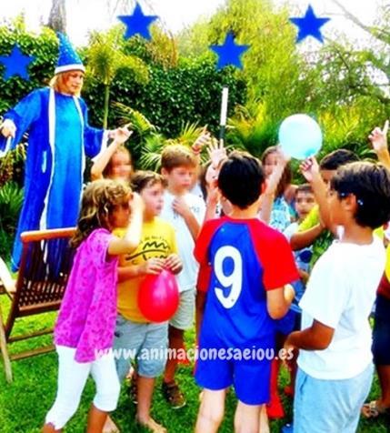 Animaciones para fiestas de cumpleanos infantiles en guadarrama