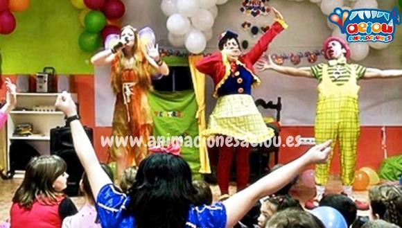 Animaciones para fiestas de cumpleanos infantiles y comuniones en guadarrama