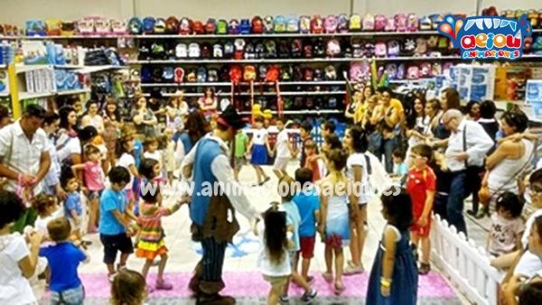 Animadores, magos y payasos en Arroyomolinos a domicilio