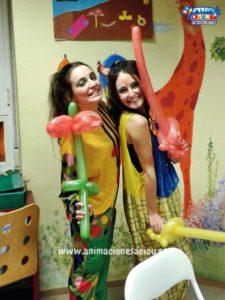 Animadores para fiesta infantil en Guadalix de la Sierra