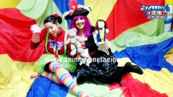 Animadores para fiestas infantiles en Alpedrete