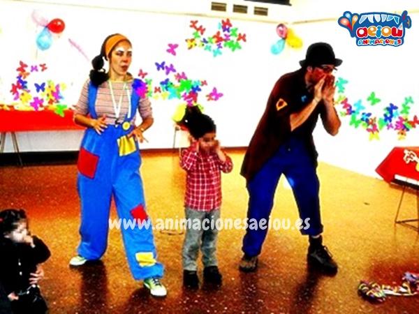 Animadores para fiestas infantiles en Camarma de Esteruelas