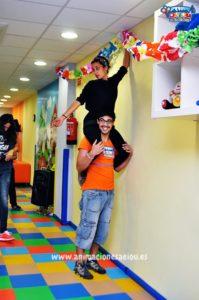 Animadores para fiestas infantiles en Galapagar