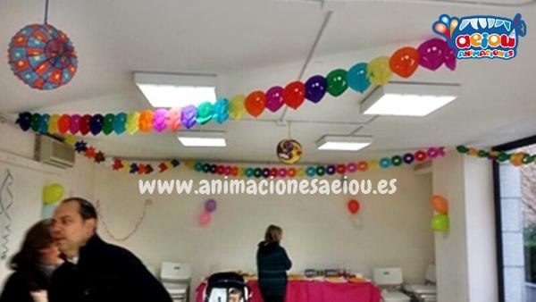 Decoración de fiestas infantiles en Guadalajara