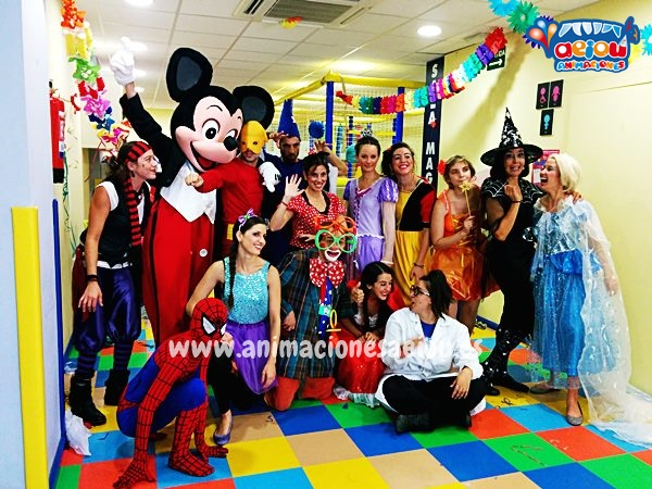 Magos para fiestas infantiles en Colmenarejo