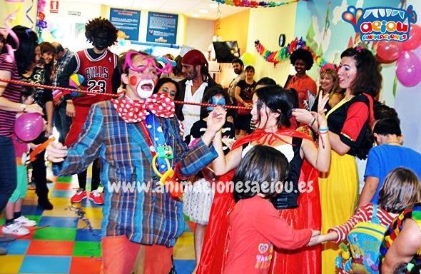 Animaciones para fiestas infantiles y comuniones en moralzarzal
