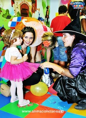 Opción de animación para las fiestas de cumpleaños en Miraflores de La Sierra