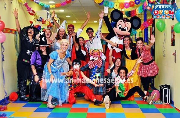 Animaciones para fiestas de cumpleaños infantiles y comuniones en el escorial