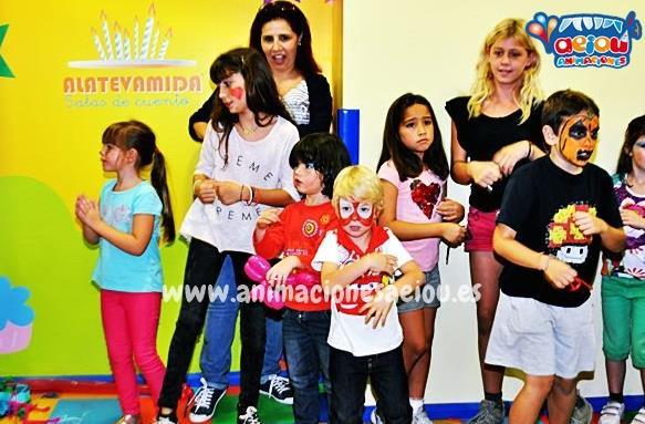 Animaciones para fiestas de cumpleanos infantiles en camarma de esteruelas
