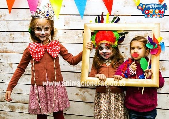 Animaciones para fiestas de cumpleanos infantiles y comuniones en algete