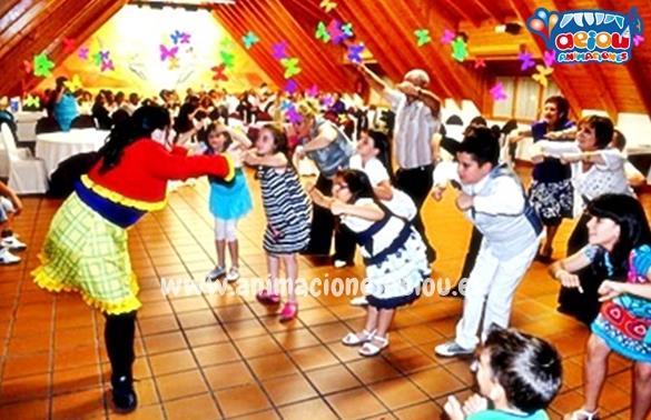 Animacion de fiestas infantiles en velilla de san antonio