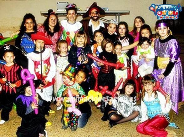 Fiestas de cumpleanos infantiles en yuncos