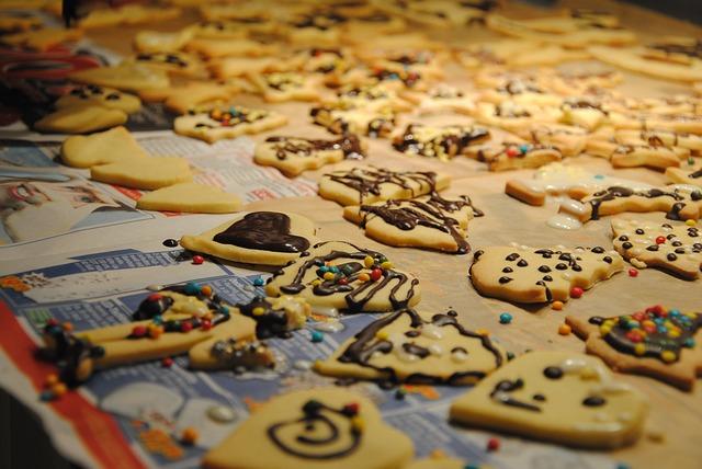 Galletas con grandes ideas para decorar en Navidad