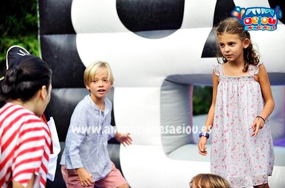 Animaciones para fiestas infantiles y comuniones en valdemorillo
