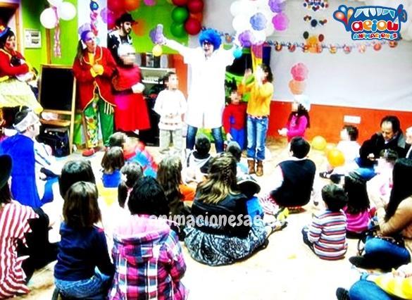 La mejor animación para fiestas de cumpleaños infantiles en Navacerrada