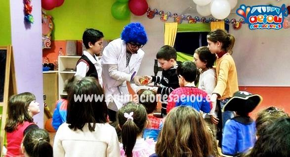 Opción de animaciones para fiestas de cumpleaños en El Espinar