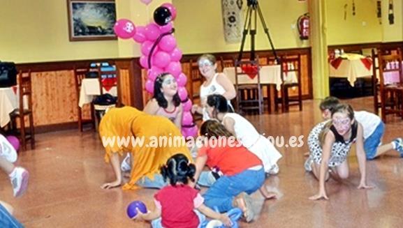 Fiestas de cumpleanos infantiles y comuniones en alalpardo