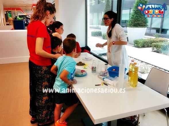 Animación para cumpleaños infantiles en El Espinar