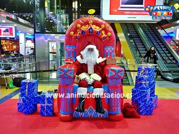 Contratar la visita de Papá Noel a domicilio en Toledo