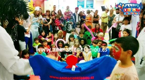 Animación para fiestas de comuniones en Talavera de la Reina