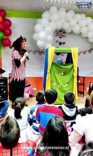 Animación para cumpleaños infantiles en Manzanares del Real