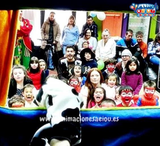 Animación para fiestas infantiles en Mataelpino