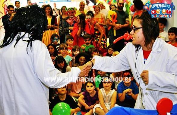Animaciones para fiestas infantiles en Navacerrada
