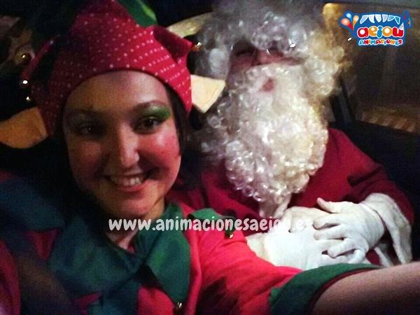 La navidad con Papá Noel a domicilio en Segovia