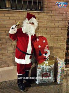 Papá Noel a domicilio en Ávila