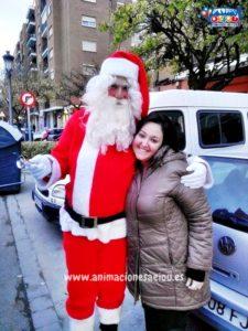 Papá Noel a domicilio en Segovia