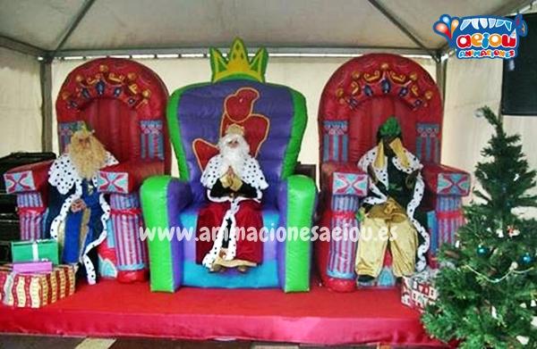 Recorrido de la cabalgata de Reyes en Madrid 2017