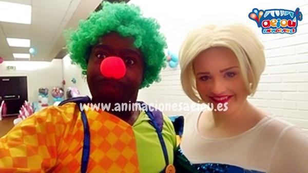 Opciones de Animaciones para fiestas temáticas infantiles Frozen en Toledo